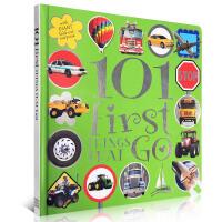 英文儿童交通工具认知启蒙图书101 First Things That Go 精装