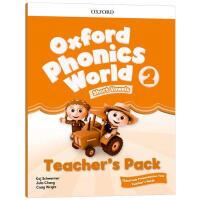 牛津自然拼读教材教师书2 英文原版 Oxford Phonics World Level 2 Teacher's Pa