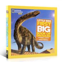 英文原版 National Geographic 美国国家地理恐龙系列精装大开本Little Kids First Bi