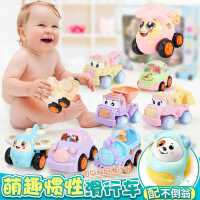 婴幼儿童玩具车男孩0-1-2-3-4周岁男宝宝益智工程车小汽车女孩56