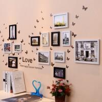相框挂墙 10 7 5寸相框创意组合连体挂简约客厅卧室照片墙画框 整套组合