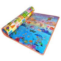 加厚宝宝学爬爬行垫泡沫地垫婴儿童客厅小孩子地毯家用大号csq 【回型双面】字母水果 海洋世界