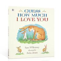 【顺丰速运】新货 英文原版 Guess How Much I Love You 猜猜我有多爱你 幼儿童英语启蒙阅读教材