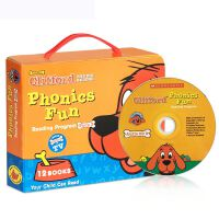 【全店300减100】英文原版绘本 Clifford Phonics Fun Pack3 大红狗Phonics 童书
