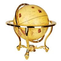 地球仪32cm立体办公室客厅书房美式复古摆件装饰