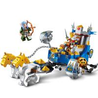 启蒙 海盗军事荣耀之战系列儿童拼插积木益智玩具男孩礼物 王者战车2310