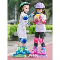 男女初学者 溜冰鞋儿童全套装3-5-6-8-10岁轮滑鞋旱冰滑冰鞋