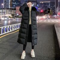 孕妇装棉衣冬季新款时尚韩版外套中长款宽松加厚棉服大码女羽绒服