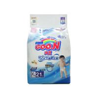 [当当自营]GOO.N大王 维E系列环贴式 婴儿纸尿裤 加大号XL21片(适合13-25kg)