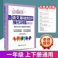 周计划语文基础知识强化训练一年级上册下册通用 小学生1年级语文专项训练