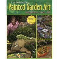 【预订】Lin Wellford's Painted Garden Art Anyone Can Do Lin
