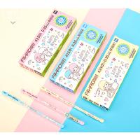 【12支包邮】爱好可擦中性笔42501卡通摩易擦中性笔热可擦笔温控笔