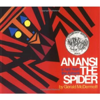 蜘蛛安纳西 1973年绘本  Anansi the Spider