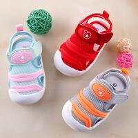 小宝宝鞋夏季女机能鞋男婴儿学步凉鞋