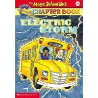 英文原版The Magic School Bus A Science Chapter Book Electric Sto
