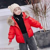 童装儿童羽绒服女童中长款2018新款男童大中小童秋冬季加厚外套