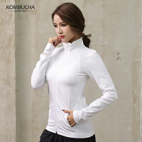 【女神特惠价】Kombucha运动健身外套女士吸湿排汗速干透气立领开衫休闲外套JCWT552