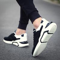休闲鞋男鞋网面鞋子韩版时尚板鞋男鞋子学生内增高透气旅游鞋男士跑步鞋潮流男运动鞋