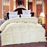 伊迪梦家纺 绒丝被加厚纤维冬被 柔软亲肤面料媲美羽绒 保暖舒适被芯被子单人双人大小床PV108
