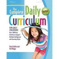 【预订】The Complete Daily Curriculum for Early Childhood, Revis