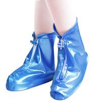 防雨雨鞋套加厚鞋包pvc防水男女�和�通用雨鞋透明雨靴非一次性鞋套旅游用品