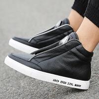 DAZED CONFUSED秋季新款男士运动休闲鞋韩版高帮板鞋个性潮鞋青少年学生鞋子