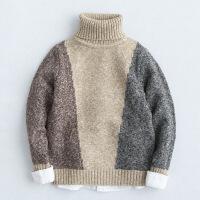 6儿童毛衣5秋冬装4男童7打底针织衫10岁8小男孩加厚9高领羊毛衫12