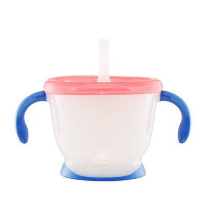 喝水杯宝宝饮水杯学饮杯 儿童吸管训练水杯家用婴儿