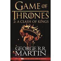 英文原版 A Clash of Kings (HBO Tie-In Edition) 冰与火之歌 2: 列*的纷争