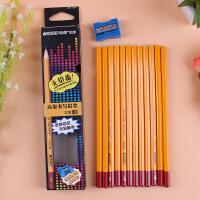 马可9002三角杆铅笔12支儿童小学生正姿安全无毒HB 2B 2H绘图铅笔