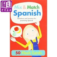 【中商原版】Mix & Match Spanish 学好西班牙语 语言学习原版进口