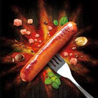 正大德式猪肉肠脆皮热狗烤香肠260g*3袋 德式风味