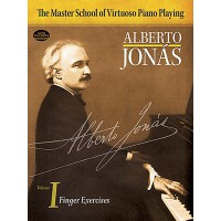 【预订】Master School of Virtuoso Piano Playing: Volume I Finge