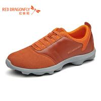 红蜻蜓男士运动休闲鞋青年透气鞋