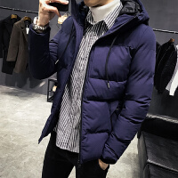 男2019新款棉衣秋冬季潮流韩版修身加厚短款羽绒服棉袄休闲外套