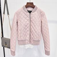 2018新款韩版修身皮衣女短款加厚小外套PU夹克机车服女士棉衣棉袄