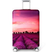 行李箱保护套 加厚耐磨20/24/28寸拉杆箱旅行皮箱印花款弹力托运套防水防尘罩子