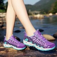 夏季登山鞋户外鞋徒步鞋男女速干溯溪鞋防滑网鞋透气越野旅游鞋