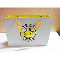 纸袋定做 可印logo广告礼品袋 订做印刷服装袋 手提袋定制批发