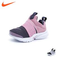 耐克nike童鞋18秋季新款儿童运动鞋男童女童拼色套脚休闲鞋 (5-10岁可选) 870023 006