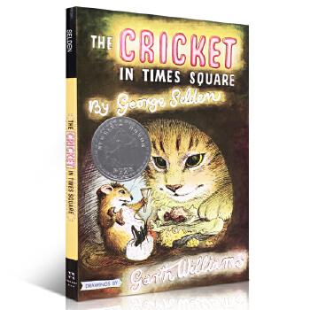 进口英文原版正版 Cricket in Times Square 时代广场的蟋蟀George Selden儿童文学小说纽伯瑞奖青少年儿童故事读物小学生英语提升