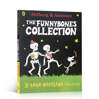 英文原版绘本 Funny bones A Bone Rattling Collection 3合1吴敏兰 funnyb
