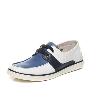 Belle/百丽专柜同款夏季时尚休闲男单鞋4KZ01BM6