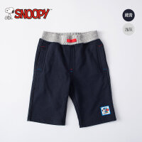 snoopy 2017新款韩版男童短裤夏外穿纯棉宝宝3-5周岁儿童五分裤子