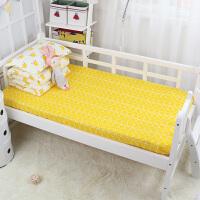 单件全棉宝宝床笠儿童卡通1.2m床罩纯棉1.5米1.8棕垫套定做