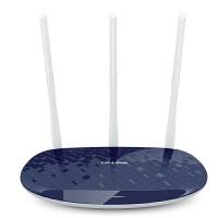 【当当特惠】 普联 TP-Link TL-WR886N 450M 无线路由器 无线WIFI三天线随身wifi迷你AP中继桥接 可选水蓝色与宝蓝色 智能家用无线发射器信号放大器 小区宽带光纤 WR885N和WR845N WR842N升级版