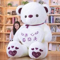 毛绒公仔娃娃送女生 抱抱熊毛绒玩具女孩大狗熊泰迪熊猫公仔布娃娃玩偶生日礼物特大号