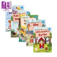【中商原版】Maverick Early Reader L4 蓝色多彩阅读桥L4 5册 赠音频儿童分级阅读亲子英语认知学