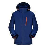 秋冬冲锋衣男潮牌三合一可拆两件套冬季加绒加厚防风外套女滑雪服