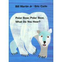Polar Bear, Polar Bear, What Do You Hear? Board book 英文原版儿童